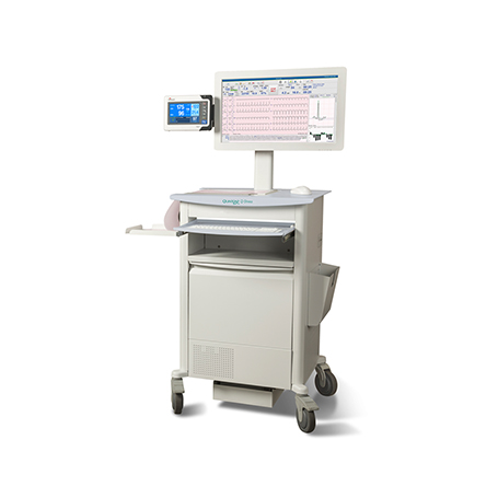 Quinton Q-Stress Cardiac Stress Testing System, right angle